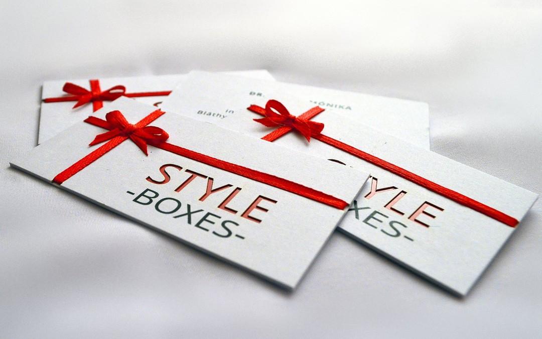 Style boxes | névjegyek