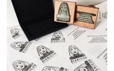 Bianicon   bélyegző